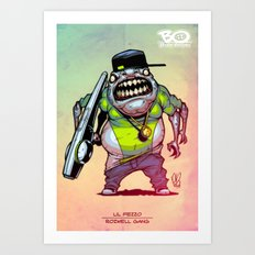 Roswell gang - Lil Fezzo - Villains of G universe Art Print