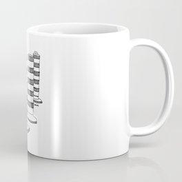 Montreal - Cones oranges - Black Coffee Mug