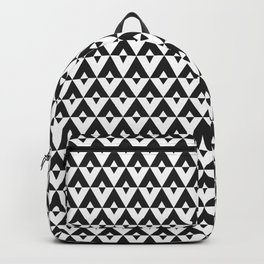 Tui Chevron Design - Dark Backpack