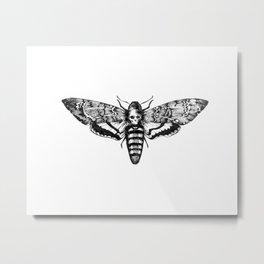 deathmoth Metal Print