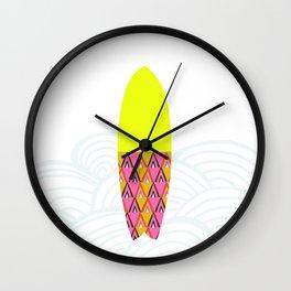Laniakea     surfboard series Wall Clock