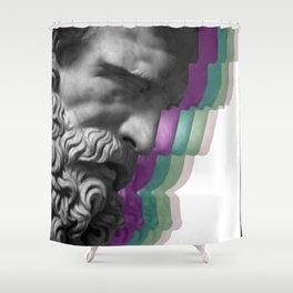 Modern Zeus Shower Curtain