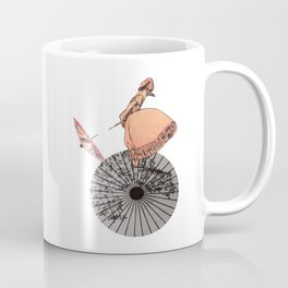The chinese aerialist Coffee Mug