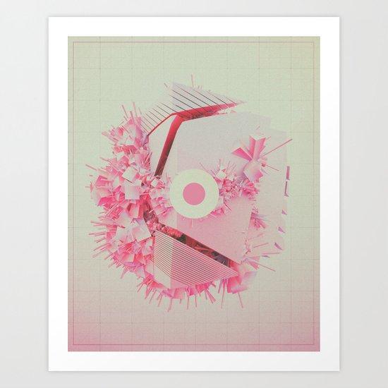 SUPERSCATTT (everyday 12.20.16) Art Print