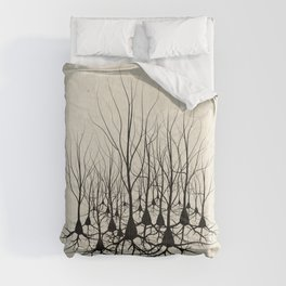 Pyramidal Neuron Forest Comforters