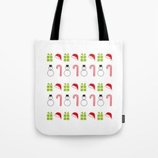 Christmas Icons Tote Bag