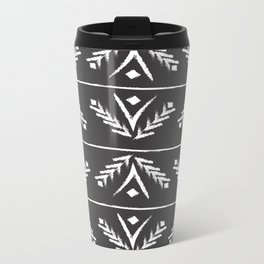 charcoal wreath Metal Travel Mug