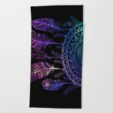 Galaxy Dreamcatcher Beach Towel