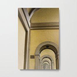 Arches Metal Print
