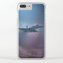 Wave Hopping Clear iPhone Case