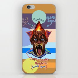 Dope Creates Monsters Uncut iPhone Skin