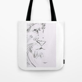 The Lord is a Lion Tote Bag