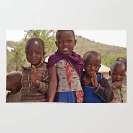 Maasai Children Rug