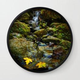 Autumn At Trillium Wall Clock