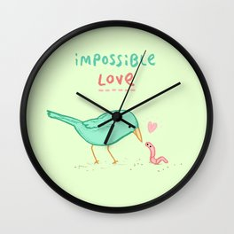 Impossible Love Wall Clock