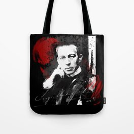 Sergei Rachmaninoff - Russian Pianist, Composer, Conductor Tote Bag