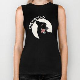 QwkDog Crazy Greyhound Biker Tank