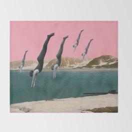 Dive Throw Blanket