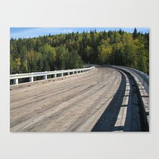 Bend In The Road III Canvas Print