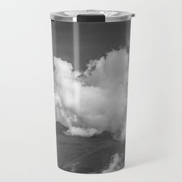 Volcano Chachani in Arequipa Peru Covered by Clouds Travel Mug