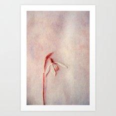 poesie  Art Print
