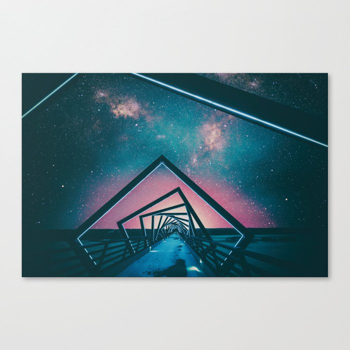 One Road Canvas Print