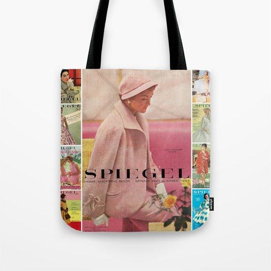 1954 Spring/Summer Catalog Cover Tote Bag