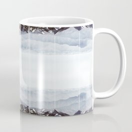 Surreal moutain reflection Coffee Mug