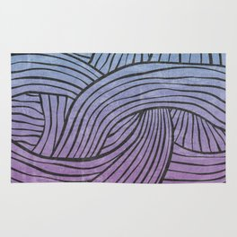 Lines - Colorful Rug