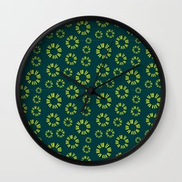 Musical repeating pattern No.6, Collection No.1 Wall Clock