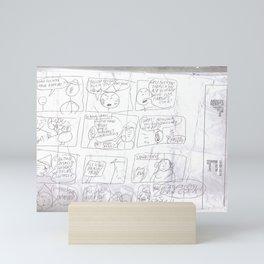 Angry Teacher Mini Art Print