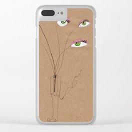 My eyes Clear iPhone Case