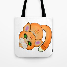 Sad cat Tote Bag