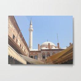 Mosque in Izmir, Turkey Metal Print