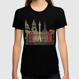London skyline poster T-shirt