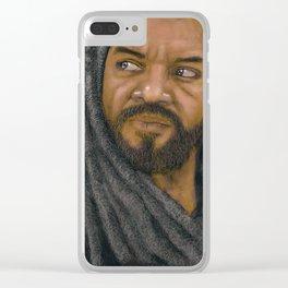 King Ezekiel Clear iPhone Case