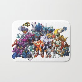 30 Days of Transformers - More Than Meets The Eye cast Bath Mat