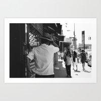 Chinatown, New York City Art Print