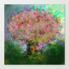 A colorful tree Canvas Print