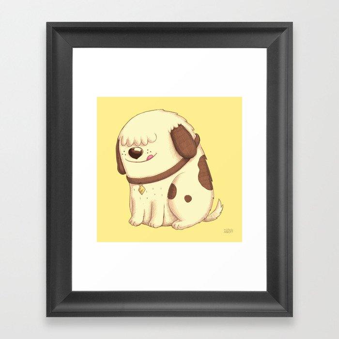 Roly Framed Art Print