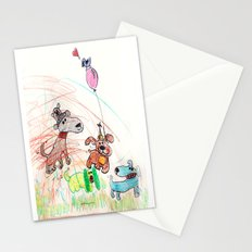 :: Underdogs Party-on-the-Lawn :: Stationery Cards