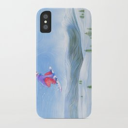 Winter Flight - Drawing 1 iPhone Case