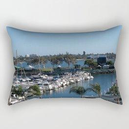 Boats Afloat Rectangular Pillow