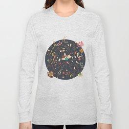 Flower pattern 02 Long Sleeve T-shirt