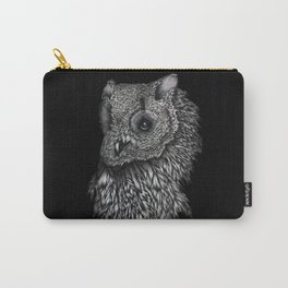 Forsythe in Black Carry-All Pouch