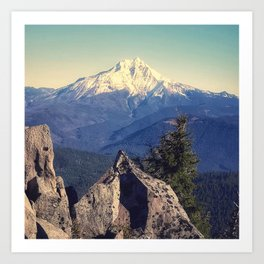Cascade Views Art Print