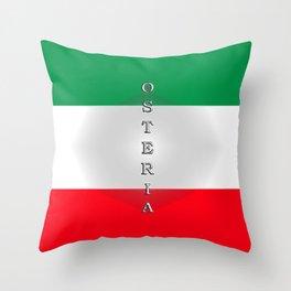 Italia Osteria Throw Pillow