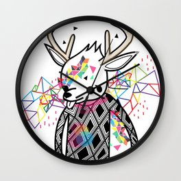 WWWWWWW OF PAUL PIERROT STYLE Wall Clock