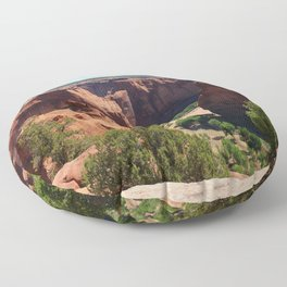 The Beauty of Canyon de Chelly Floor Pillow