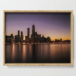 Chicago Skyline - new! Serving Tray